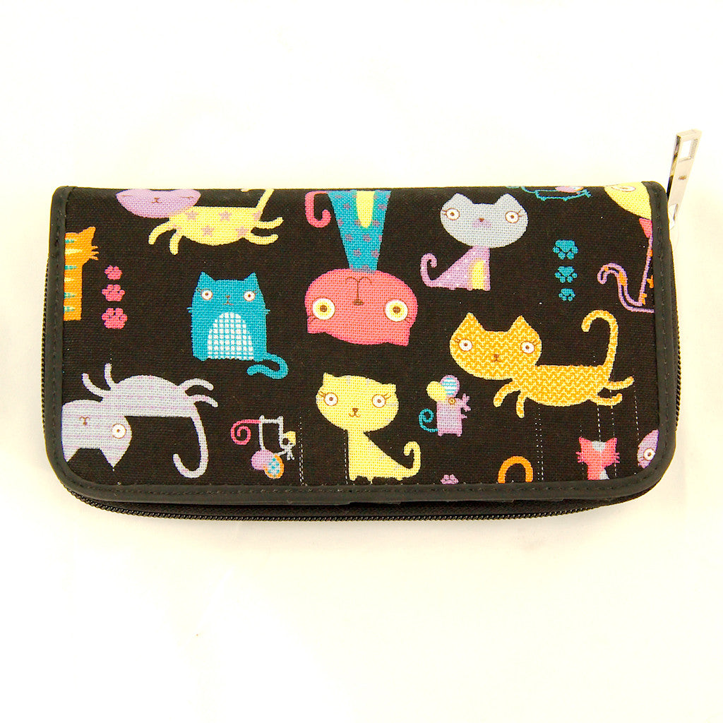 Colorful Kitty Cats Wallet by Comeco Inc : Cats Like Us