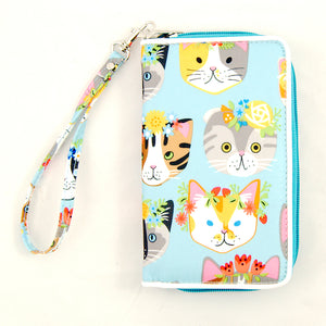 Flower Kitties Wallet