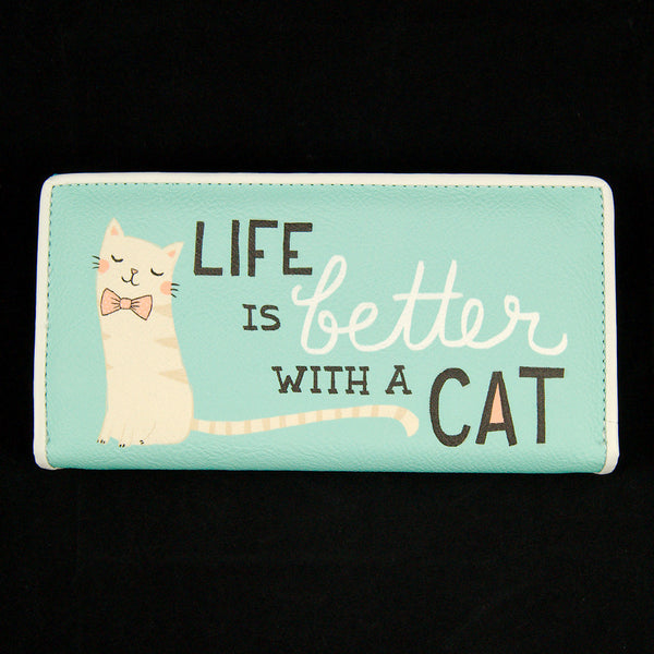 Life is Better with Cats Wallet - Cats Like Us