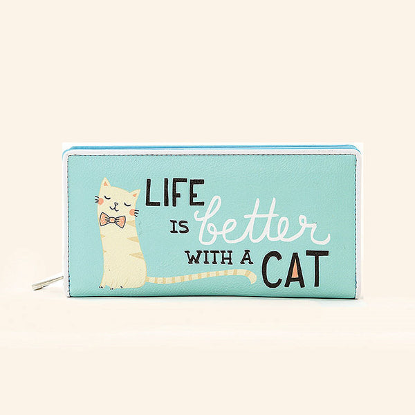 Life is Better with Cats Wallet