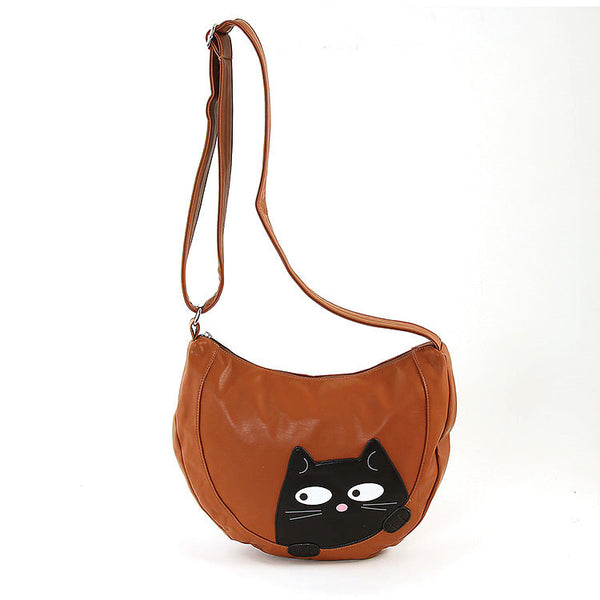 Comeco Inc Peeking Kitty Hobo Handbag for sale at Cats Like Us - 6