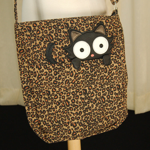 Comeco Inc Peeping Kitty Crossbody Bag for sale at Cats Like Us - 5