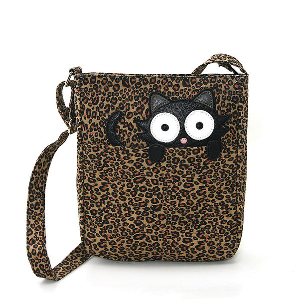 Comeco Inc Peeping Kitty Crossbody Bag for sale at Cats Like Us - 2