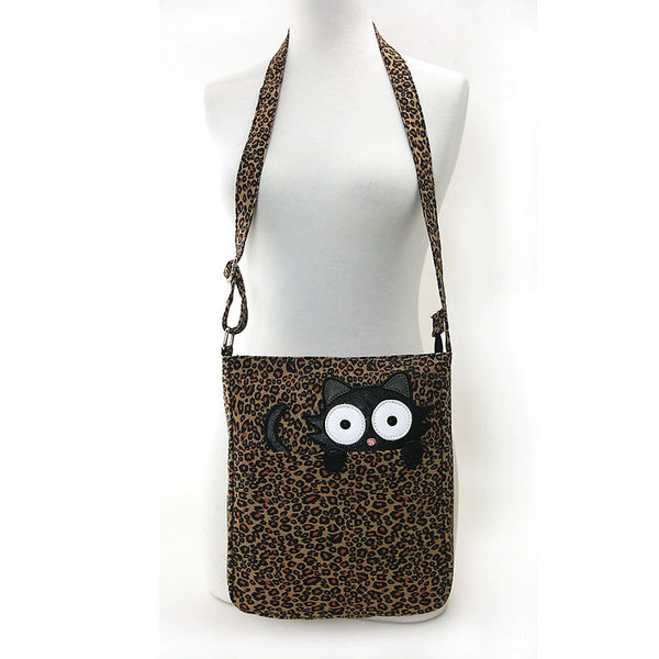 Comeco Inc Peeping Kitty Crossbody Bag for sale at Cats Like Us - 6