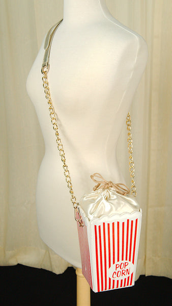 Comeco Inc Popcorn Handbag for sale at Cats Like Us - 2