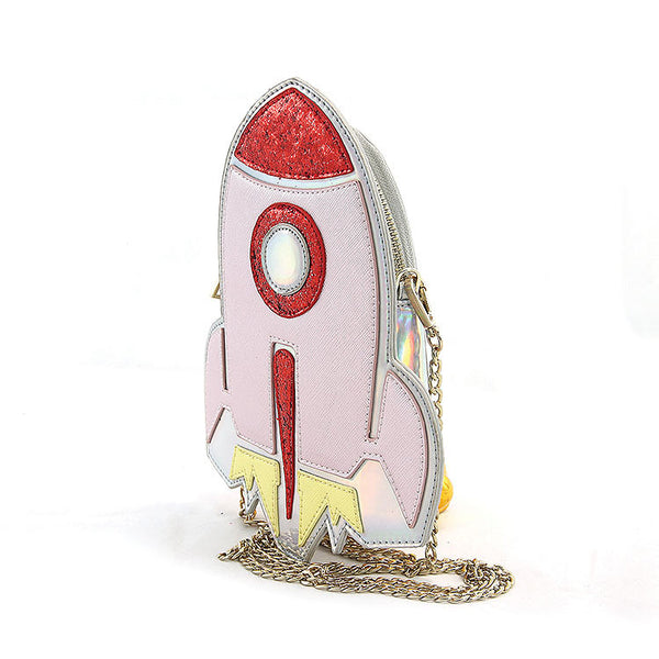 Comeco Inc Spaceship Crossbody Bag for sale at Cats Like Us - 7