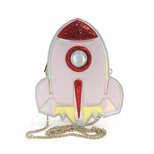Comeco Inc Spaceship Crossbody Bag for sale at Cats Like Us - 6