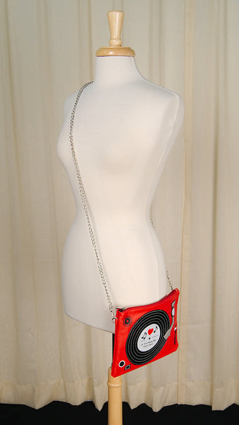 Turn Table Clutch Bag
