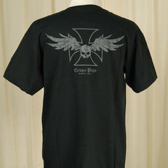 Winged Skull Garage Wear T