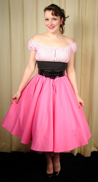 Cruisin USA Pink Full Circle Skirt for sale at Cats Like Us - 3