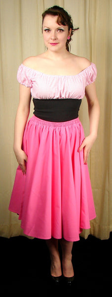 Cruisin USA Pink Full Circle Skirt for sale at Cats Like Us - 7
