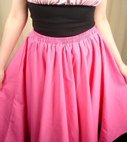 Cruisin USA Pink Full Circle Skirt for sale at Cats Like Us - 8