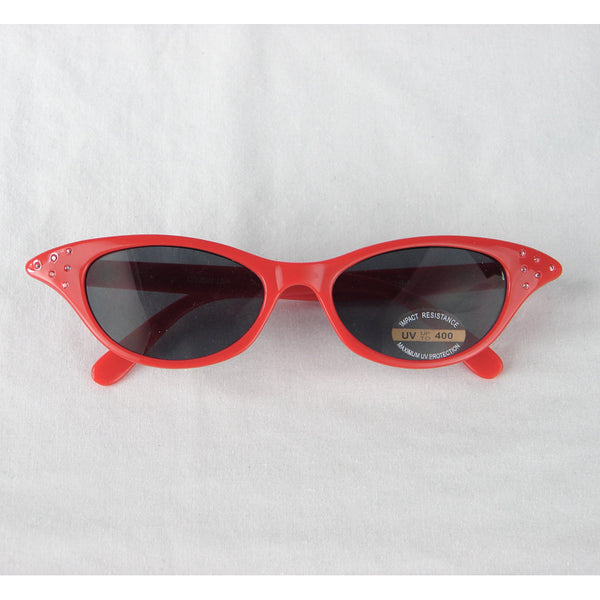 Cruisin USA Siren Red Cat Eye Sunglasses for sale at Cats Like Us - 3
