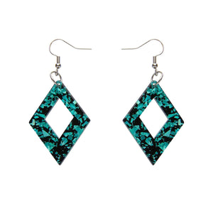Mint Essential Glitter Earrings