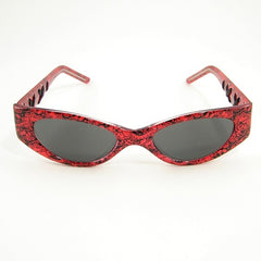 Sexy Librarian Sunglasses Red