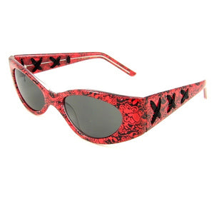 Sexy Librarian Sunglasses Red by Elope