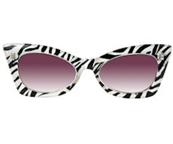 Zebra Sunglasses by Elope : Cats Like Us