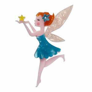 A Fairy Wish Brooch - Cats Like Us