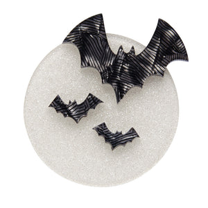 All Hallows Eve Bat Brooch