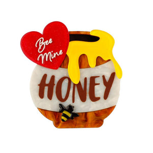 Bee Mine Honey Bee Brooch