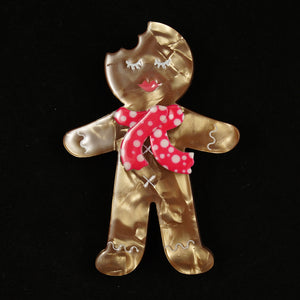 Ginger the Cookie Brooch Pin - Cats Like Us
