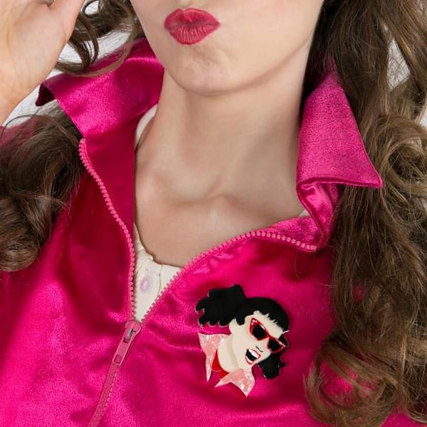 Jan the Joker Brooch by Erstwilder : Cats Like Us