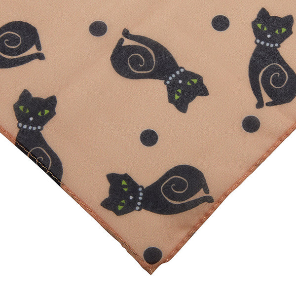 Meow at Midnight Scarf by Erstwilder : Cats Like Us