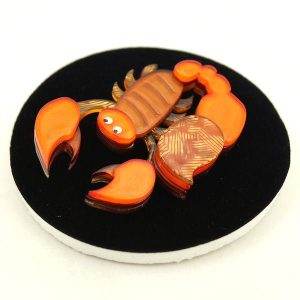 Sand Dweller Scorpion Brooch by Erstwilder : Cats Like Us