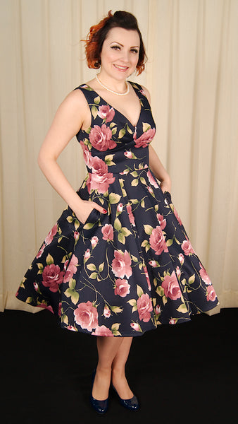 Floral Beauty Swing Dress