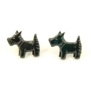 Scotty Dog Earrings - Cats Like Us
