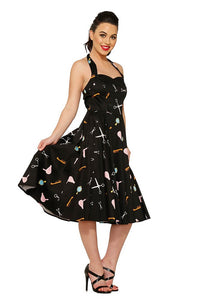 Beauty Parlor Swing Dress by H & R London - Cats Like Us
