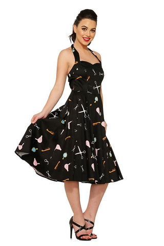 Beauty Parlor Swing Dress