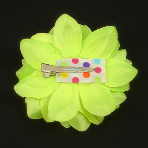 Neon Yellow Hair Flower by Hair Affair by Kelvis : Cats Like Us