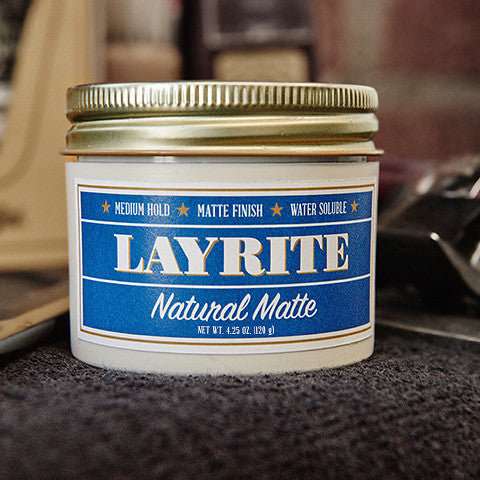 Layrite Natural Matte Pomade by Hawleywoods : Cats Like Us