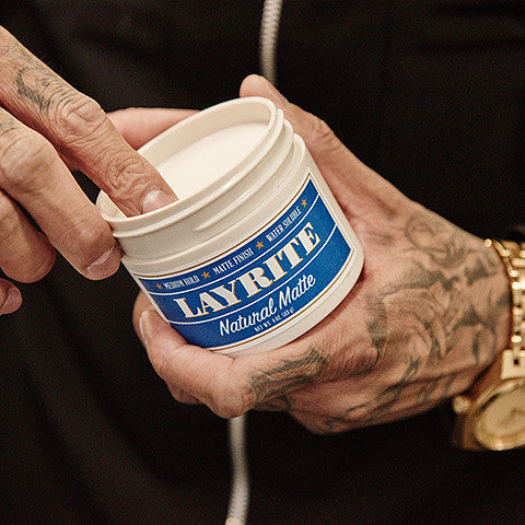 Layrite Natural Matte Pomade - Cats Like Us