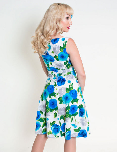 Heart of Haute Ava Rose Blue Monique Dress for sale at Cats Like Us - 2
