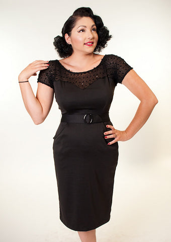 Heart of Haute Rhonda Glitz LBD Dress for sale at Cats Like Us - 1