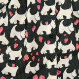 Aggy Terrier Dog Tie Dress