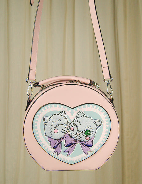Blossom Kitty Handbag by Hell Bunny : Cats Like Us
