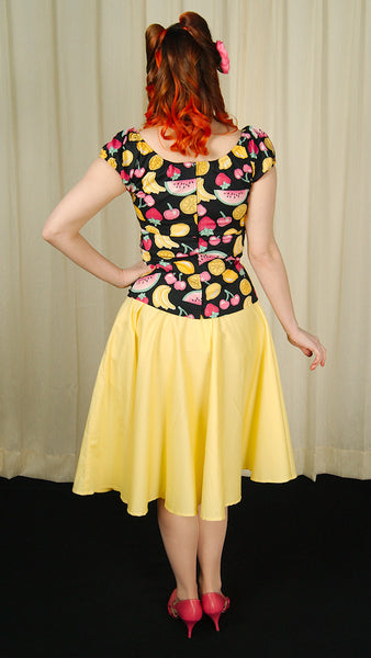 Carmen Fruit Peasant Top by Hell Bunny : Cats Like Us