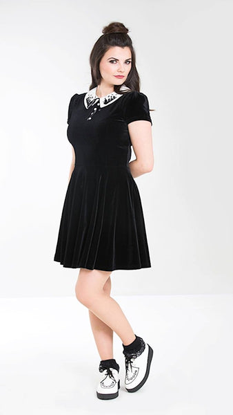 Graveyard Mini Dress by Hell Bunny : Cats Like Us