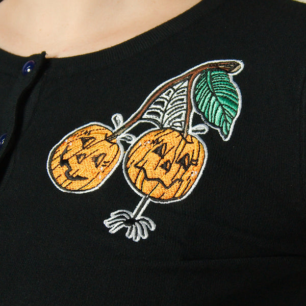 Jack O Lantern Cardigan - Cats Like Us