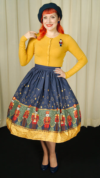 Nutcracker Swing Skirt by Hell Bunny : Cats Like Us