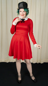 Red Ricci Lace Dress - Cats Like Us