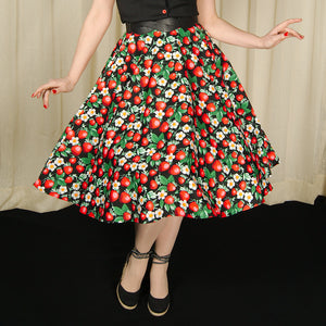 Strawberry Sundae Swing Skirt - Cats Like Us