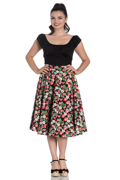 Strawberry Sundae Swing Skirt by Hell Bunny : Cats Like Us