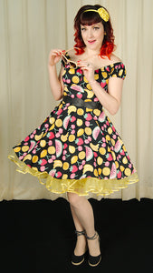 Tutti Frutti Mini Dress by Hell Bunny : Cats Like Us