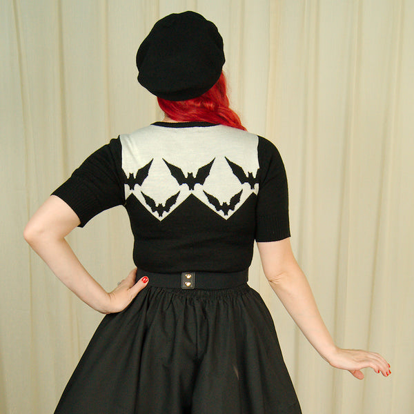 Vamp Bat Sweater by Hell Bunny : Cats Like Us