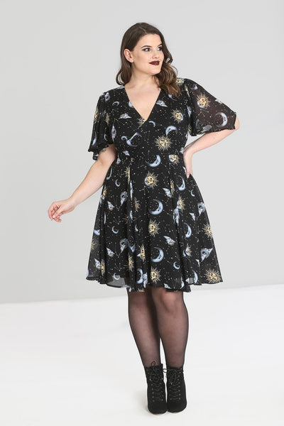 Solaris Sun & Moon Dress - Cats Like Us