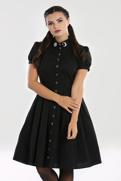 Samara Ouija Shirt Dress - Cats Like Us